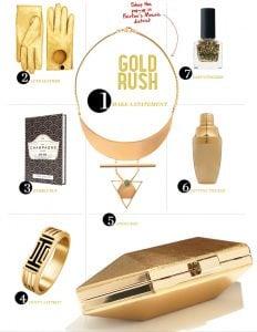 Washingtonian Gift Guide 2014: Gold Gifts for Women