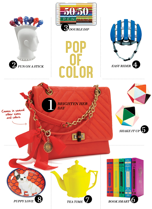 Washingtonian Gift Guide 2014: Colorful Gifts for Someone Playful