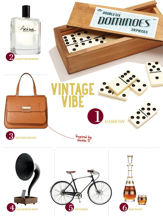 Washingtonian Gift Guide 2014: Vintage Gifts for the Old Soul