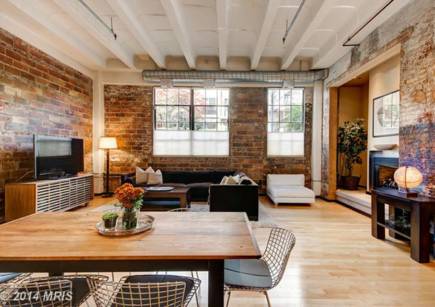 Listing We Love: A Historic Autoshop Loft in Logan Circle
