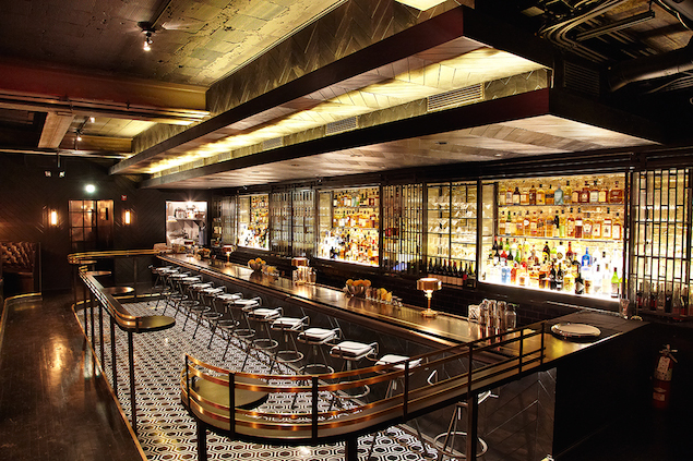 Inside The Hotel Inspired Denson Liquor Bar