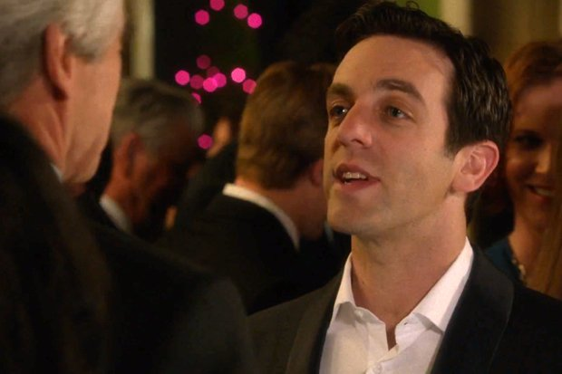 "B.J. Novak's Character on ""The Newsroom"" Is a Lot Like New Republic Owner Chris Hughes"