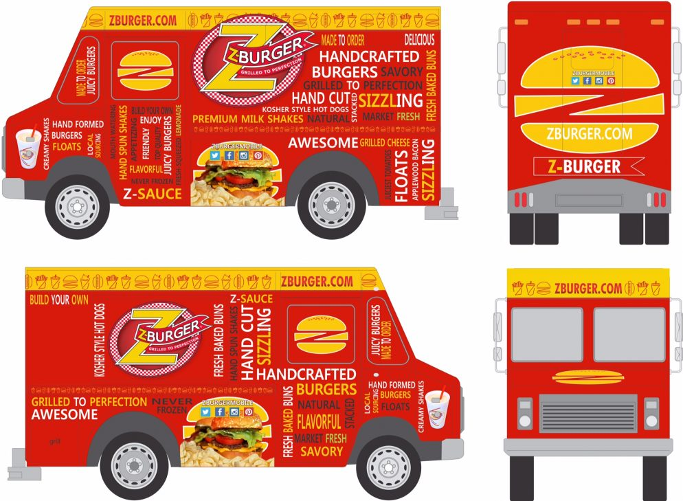 Local Chain Z-Burger Launches a Food Truck