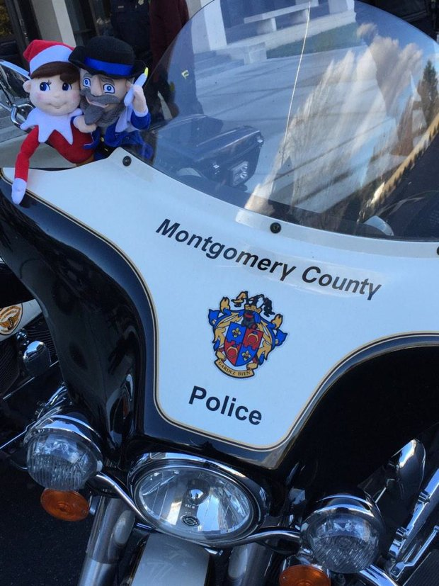 Montgomery County Police Apologize for Elf on the Shelf Photos