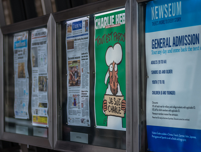 Here's Where You'll Be Able to Buy Charlie Hebdo in Washington