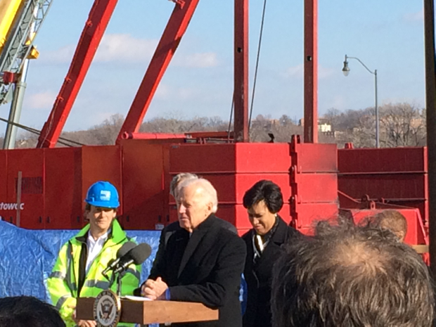 Joe Biden Says Bald Eagles Are Good Omens for Rebuilding Our Crumbling Infrastructure