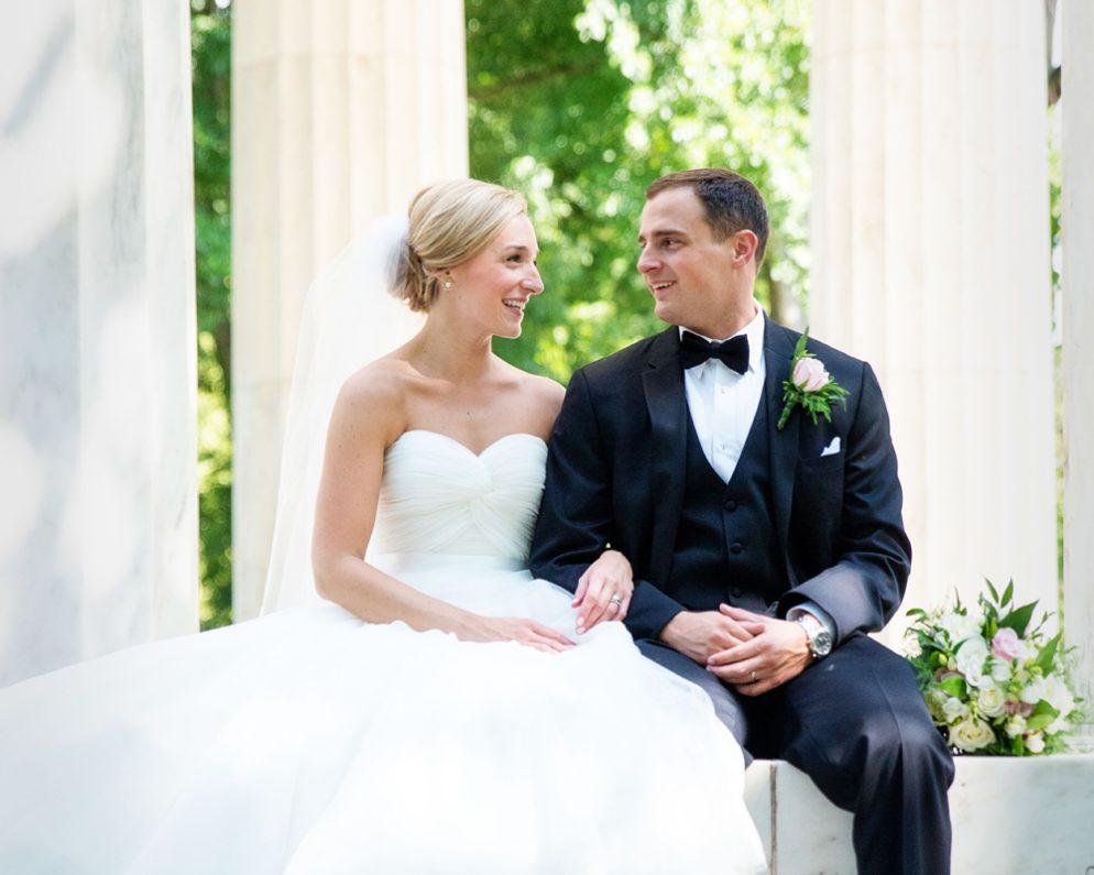 Real Wedding: Christina Karonis and Matt Radio