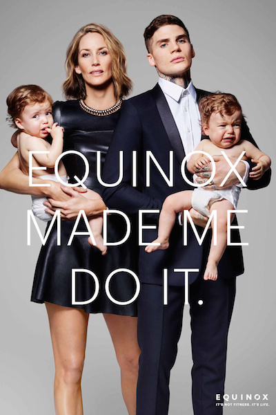 Check Out Equinox's Perplexing New Ads