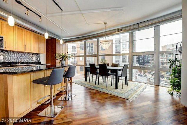 Listing We Love: A Contemporary Corner Condo on 14th Street