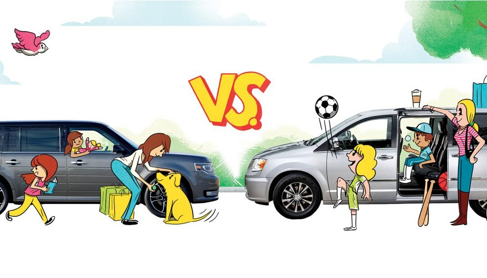 Picking the Right Minivan (Or SUV) to Fit Your Lifestyle