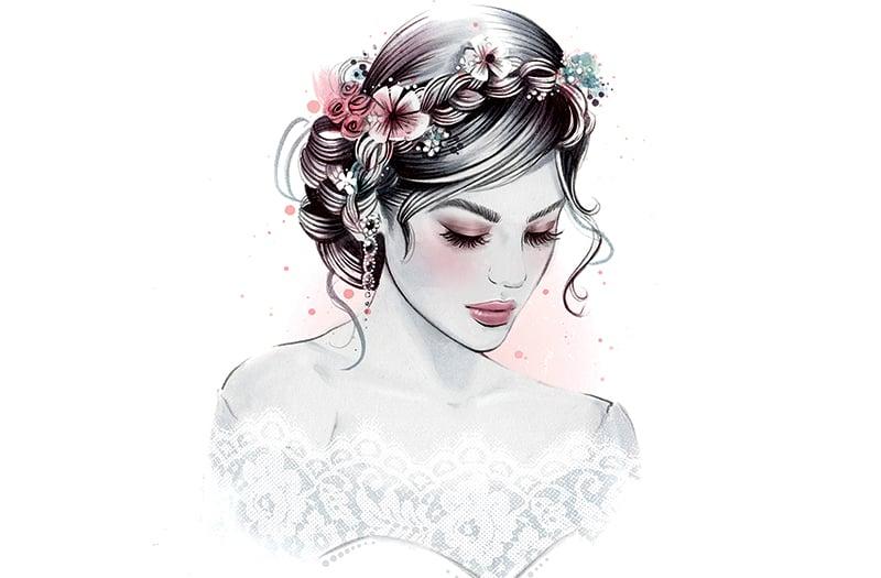 6 Easy DIY Floral Crown Hairstyles