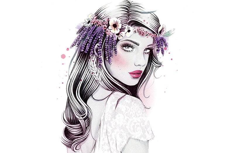 6 Easy Diy Floral Crown Hairstyles Washingtonian Dc