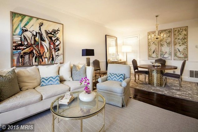 Look Inside This Glam Georgetown Condo