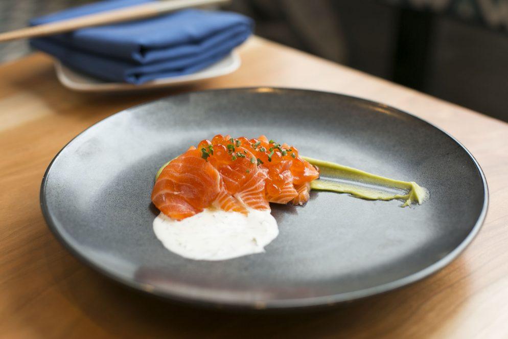 Recipe: Smoked-Salmon Carpaccio from Crane & Turtle