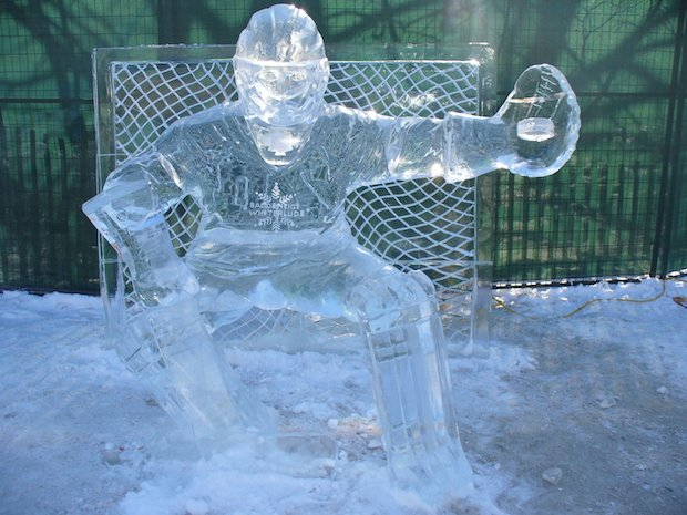 chill out at an ice carving competition in leesburg this weekend