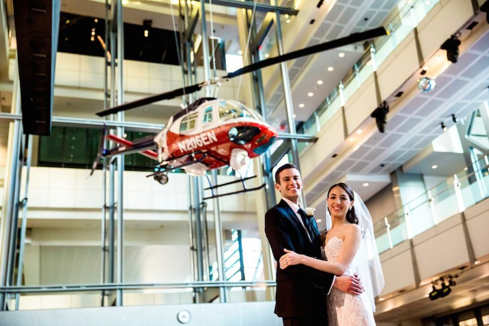 A Fall Wedding at the Newseum