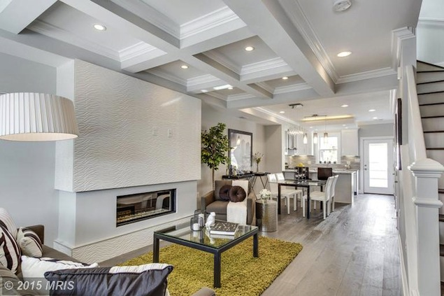 Take a Look Inside This Renovated Rowhouse in Brightwood
