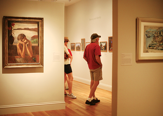 There's much to admire—including Renoirs and Rothkos—at the Phillips Collection. Photograph by Hong Le.