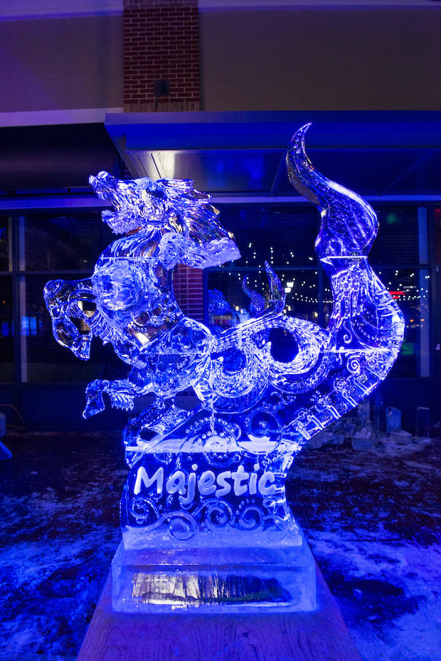 See the Ice Sculptures From This Past Weekend's Competition