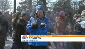 You Won't Have Mike Conneen to Throw Snowballs at Tonight, DC
