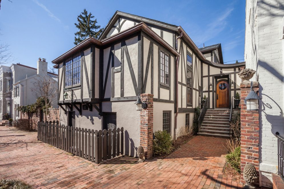 This Georgetown Tudor Home Used to Be a Chapel