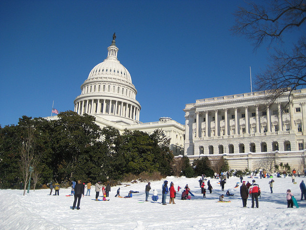 UPDATED: Norton Asks Capitol Police to Allow Sledding Ahead of Storm, Cops Say No