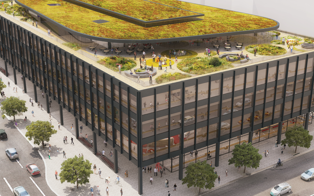 Here Are the Latest Designs for the MLK Library Remodeling