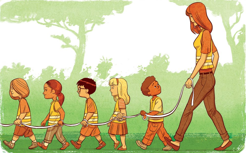 What I Learned when I Followed My Three-Year-Old to School