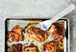 Recipe: Chicken Thighs Fra Diavolo from Red Hen Chef Michael Friedman
