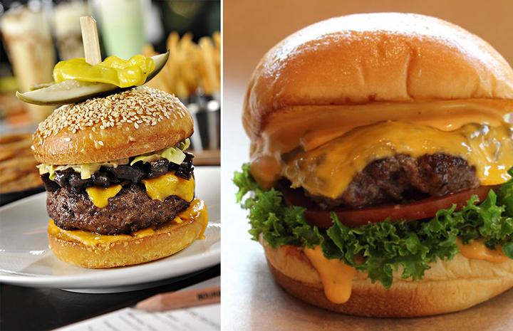 The Great Burger Battle: City Burger vs. Bourbon Steak Lounge