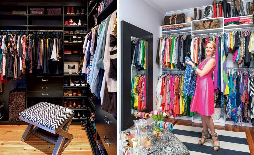 Inside Two Dream Walk In Closet Remodels