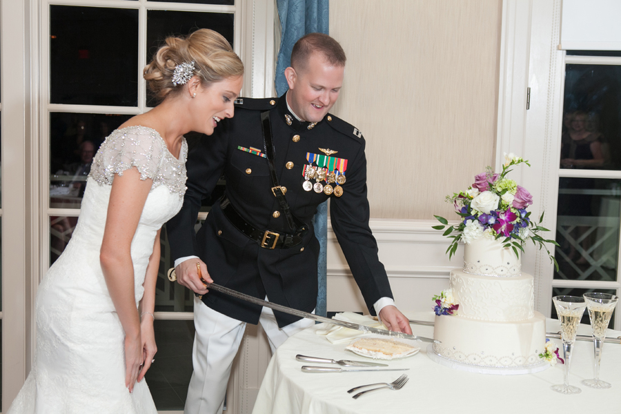 Military-Themed Wedding at the Army Navy Country Club | Washingtonian