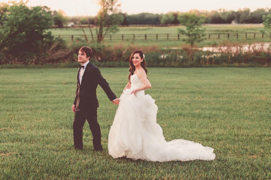 Early Summer Wedding at a Virginia Farm