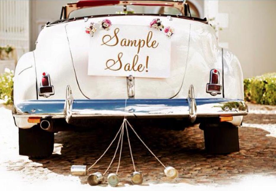 Deal Alert! Wedding Dress Sample Sale Happening at Hitched Next Week