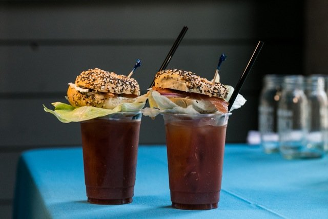 This Bloody Mary With A Lox Bagel Garnish Is Genius
