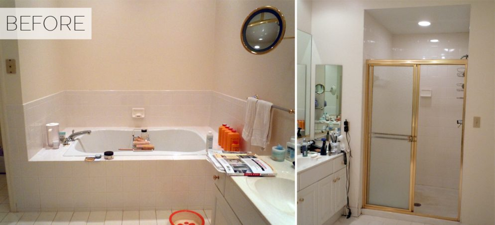 Before & After: See a Boring Bathroom Transform Into Spa-Like Serenity
