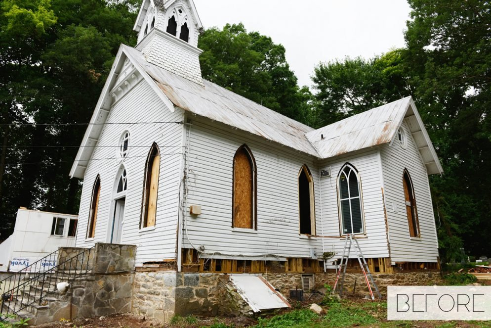 This Old Church Was Transformed Into an Interior Design Office