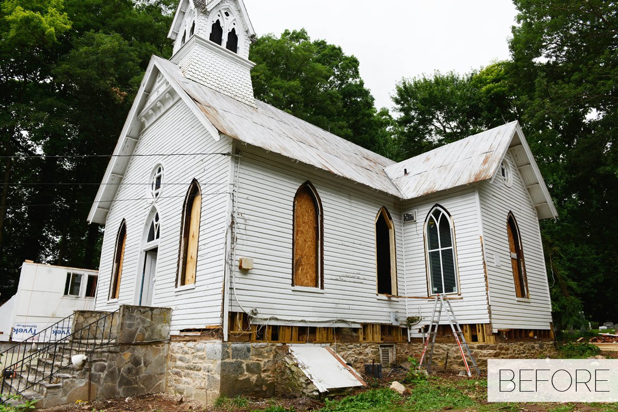 Talk about a vision built in 1889 this howard county episcopal church had fallen upon years of abandonment after its congregation formed a new church