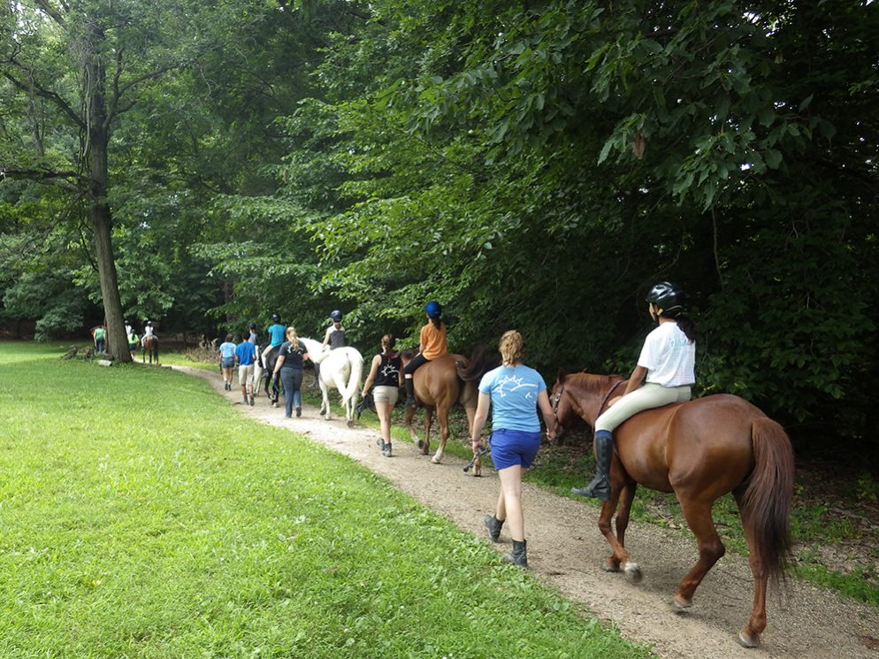 Rock Creek Park on Horseback