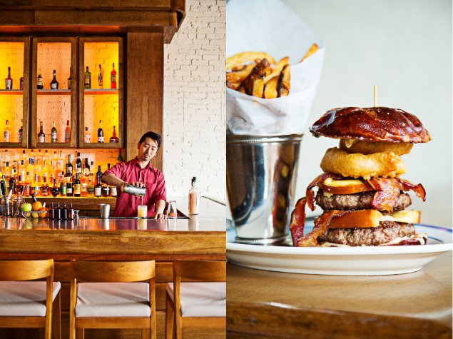 Stanton & Greene Soft-Opens Monday with Classic Cocktails, Triple Bacon Burgers