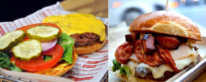 The Great Burger Battle: Smashburger vs. Burger Tap & Shake (Semifinals)