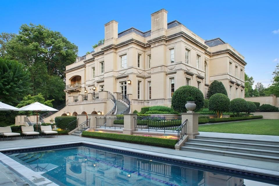 This Mansion Just Became DC's Priciest Home
