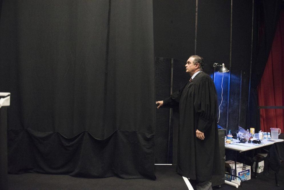 Watch Actor Edward Gero Transform into Supreme Court Justice Antonin Scalia