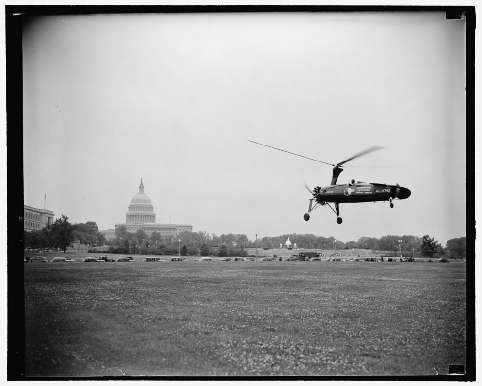 It Wasn't Always Illegal to Fly a Gyrocopter Near the Capitol