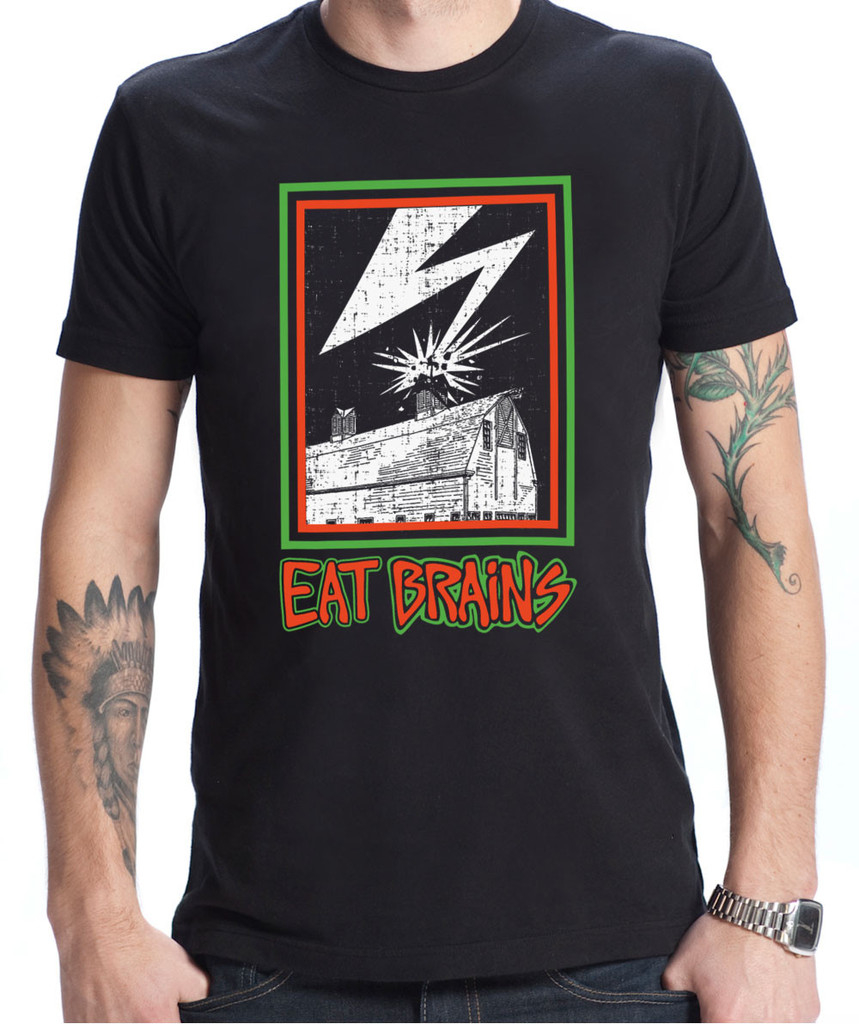 Chef Puts Bad Brains on T-Shirt to Get People to Eat Brains