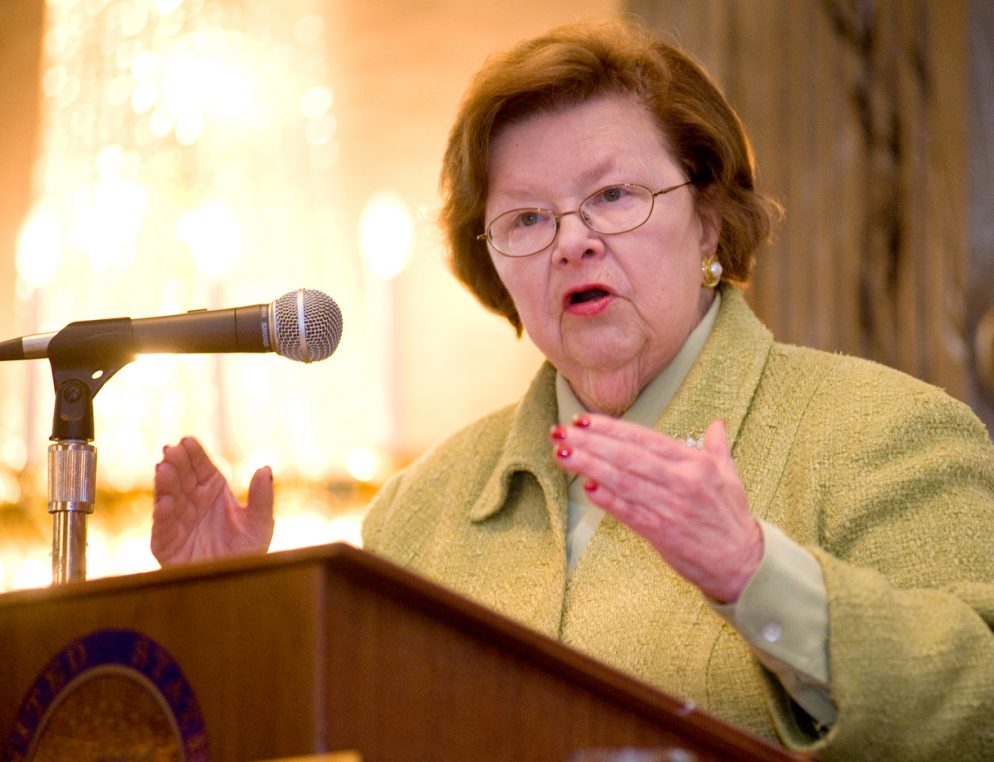 Your Guide to Everyone Who Wants to Replace Barbara Mikulski