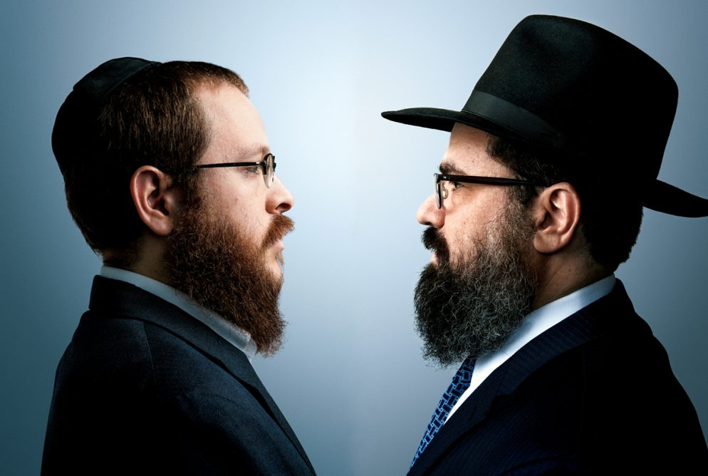 Inside the Strangely Public War Between Two Top Washington Rabbis