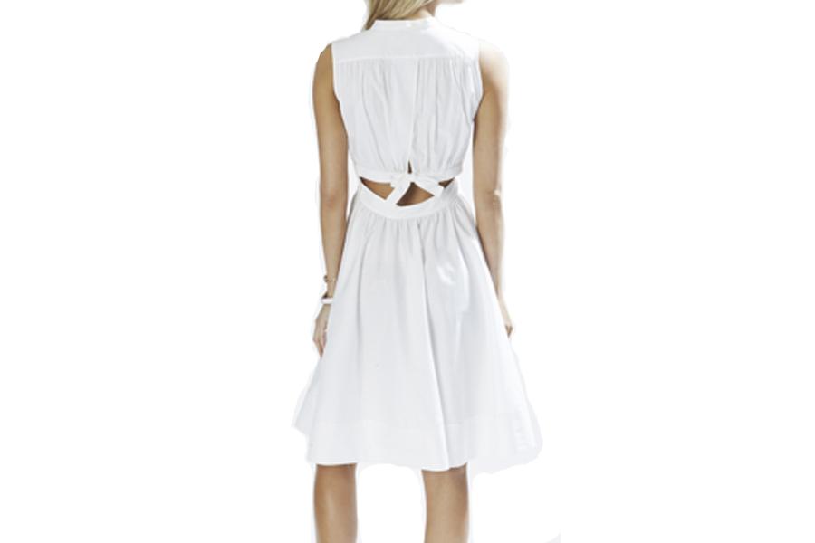 Bloomingdales White Dresses