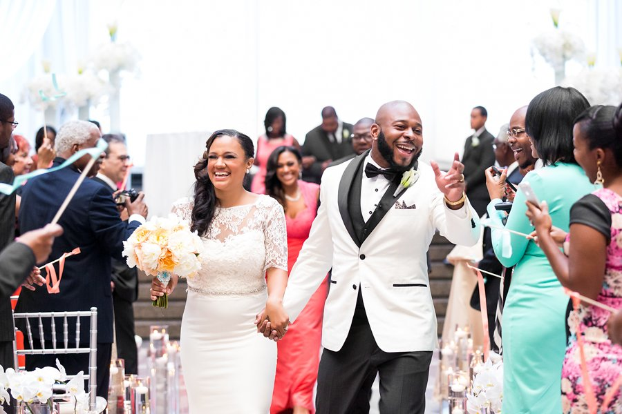 San Francisco 49er Antoine Bethea Married His College Sweetheart Samantha at the Ronald Reagan Building