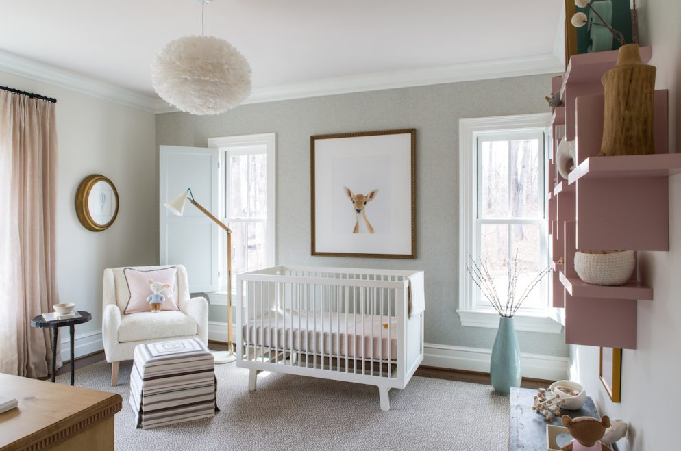 How to Recreate the DC Design House's Scandinavian-Woodland Nursery